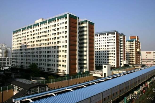 일본 니시다이 임대아파트 전경/사진= 머니투데이DB