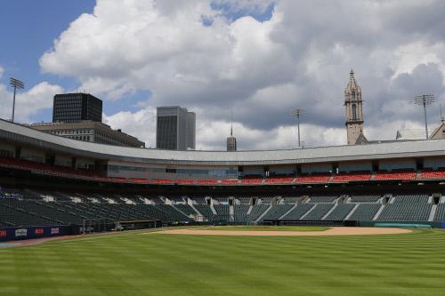 토론토가 임시 홈구장으로 사용할 살렌필드 전경. 버팔로(미 뉴욕주) | AP연합뉴스