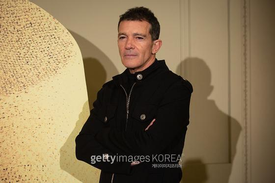 BARCELONA, SPAIN - FEBRUARY 22: Actor Antonio Banderas at the premiere of 'A Chorus Line' at Teatro Tivoli on February 22, 2020 in Barcelona, Spain. (Photo by David Zorrakino/Europa Press via Getty Images