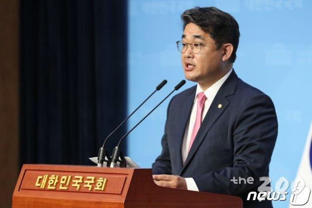 (서울=뉴스1) 성동훈 기자 = 배준영 미래통합당 대변인