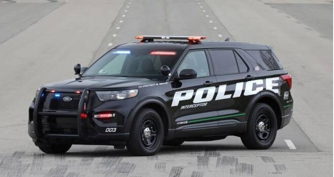 SUV형 미국 경찰 순찰차 [포드 홈페이지 캡처·재판매 및 DB 금지]