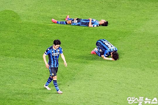 올 시즌 15경기에서 승리가 없었던 인천 유나이티드(사진=엠스플뉴스)