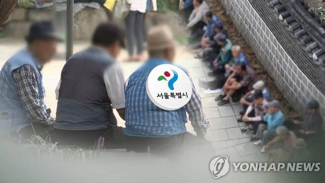 점점 늙어가는 서울…고령사회 첫 진입 (CG) [연합뉴스TV 제공]