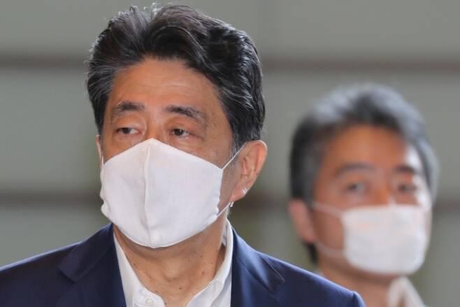 아베 신조 일본총리. /사진=AFP