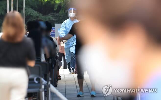 코로나19 선별진료소 [연합뉴스 자료사진]