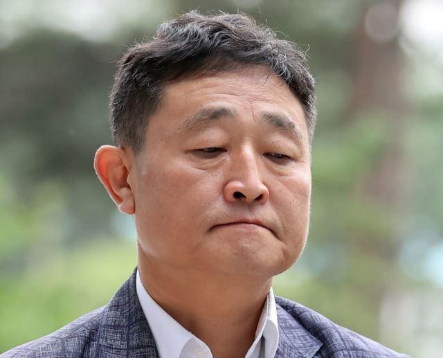 지난 27일 구속 기소된 허인회 녹색정보통신 대표. 연합뉴스
