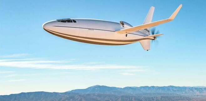 (서울=뉴스1) 최종일 기자 = 미국 업체 오토 애비에이션(Otto Aviation)이 약 10년간 비밀리에 개발해온 탄환 형태의 비행기 '셀레라 500(Celera 500L)'을 최근 공개했다 <오토 애비에이션 제공> © 뉴스1
