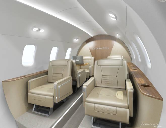 미국 업체 오토 애비에이션(Otto Aviation)이 약 10년간 비밀리에 개발해온 탄환 형태의 비행기 '셀레라 500(Celera 500L)'을 최근 공개했다 <오토 애비에이션 제공> © 뉴스1