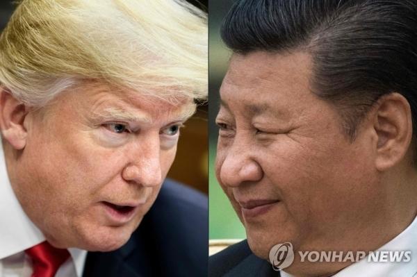 트럼프 시진핑 - 연합뉴스