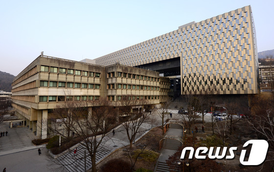 서울대 관정도서관. © News1 박지혜 기자