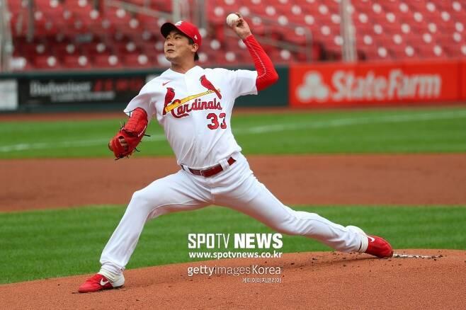 ▲ MLB 역사에 진기록을 남긴 김광현은 이제 상대는 물론 체력과도 싸운다