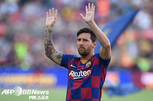 리오넬 메시는 2020-21시즌에도 FC바르셀로나의 유니폼을 입는다. 그렇다면 계약 기간이 종료된는 2021-22시즌에는? 사진=ⓒAFPBBNews = News1