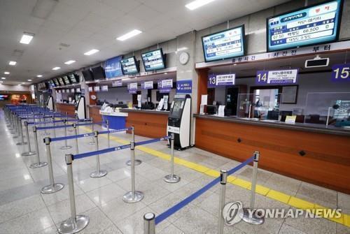 여객선 통제 [연합뉴스 자료사진]