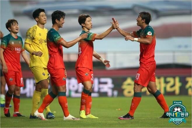 K리그1 6위 강원FC. (사진=한국프로축구연맹 제공)