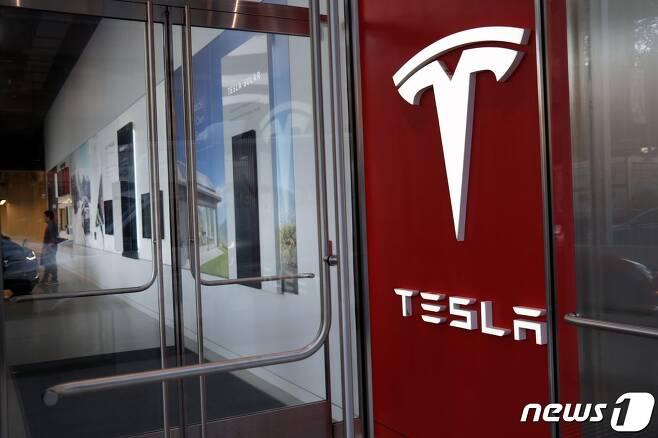 미국 전기차 기업 테슬라. © AFP=뉴스1