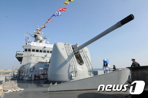 한국형 구축함인 양만춘함(3200t급) © News1