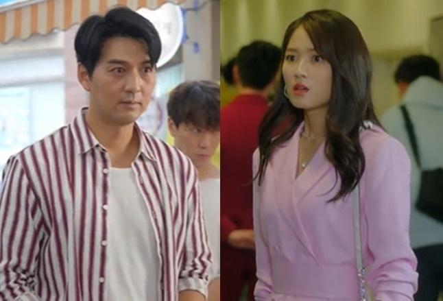 왼쪽부터 이필모, 김혜윤