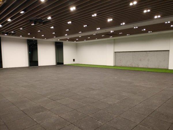 창원 LG가 창원체육관에 마련한 실내 훈련 시설. 사진제공 | 창원 LG