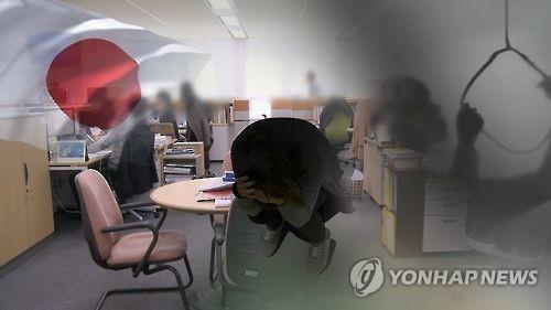 자살(CG) [연합뉴스TV 제공]
