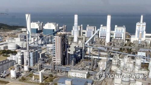 충남 태안화력발전소 전경 [연합뉴스TV 제공. 재판매 및 DB 금지]