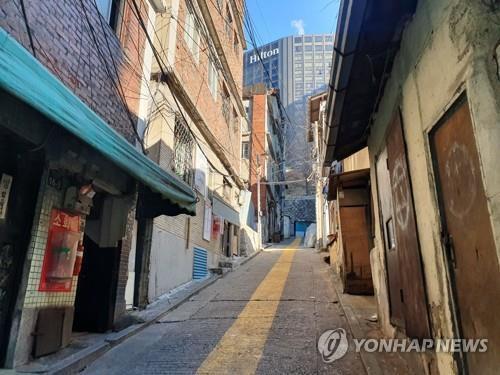 서울의 한 재개발지역 [연합뉴스 자료사진]