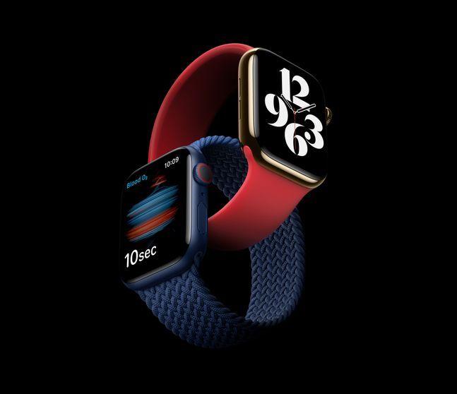 애플 스마트워치 '애플워치6'.ⓒ애플