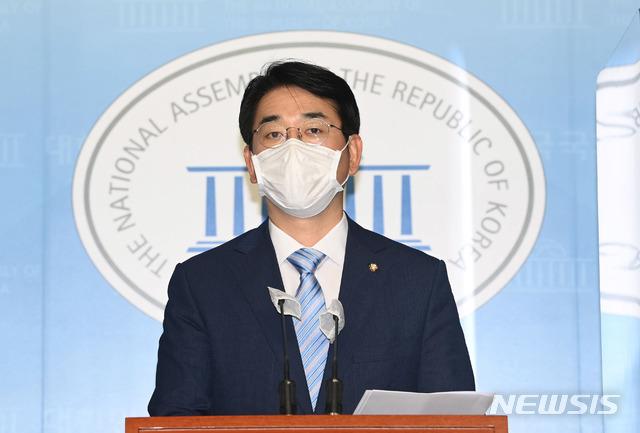 [서울=뉴시스]최동준 기자 = 박용진 더불어민주당 의원(공동취재사진) 2020.09.15. photo@newsis.com