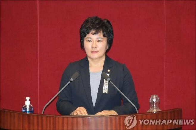 미래통합당 조수진 의원. (사진=연합뉴스)