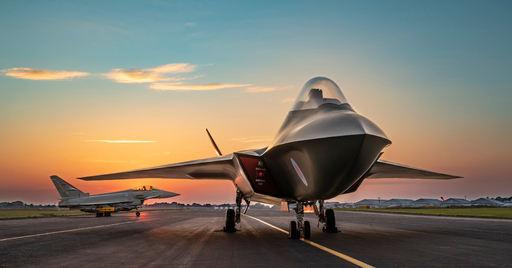 영국 BAE 시스템스를 중심으로 개발중인 6세대 전투기'템페스트' 상상도. 롤스로이스 제공