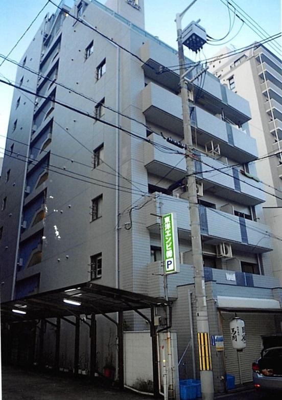 일본 오사카에서 우씨와 김씨가 묵은 호텔 건물 사진. 한국일보 자료사진
