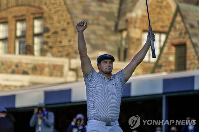 US오픈 우승한 브라이슨 디섐보 [AP=연합뉴스]