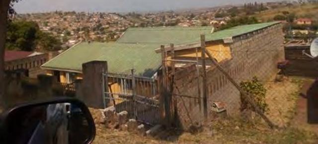 """22일(현지 시간) 나녹스에 대한 사기설을 제기한 미국 공매도 투자세력 머디워터스리서치가 공개한  남아프리카공화국 회사 골드러시 사옥 사진. 머디워터스는 """"나녹스가 공급 계약을 맺었다고 밝힌 골드러시의 주소지를 찾아갔다""""며 이  사진을 공개했다. 사진 출처 머디워터스리서치"""