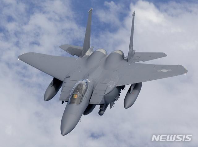 [서울=뉴시스] F-15K. 2020.05.08. (사진=공군 누리집 제공)