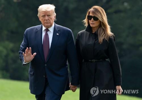 트럼프 미국 대통령 부부 코로나19 감염 [AFP=연합뉴스 자료사진].