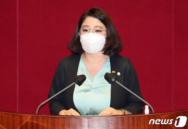 용혜인 기본소득당 의원. 2020.9.22/뉴스1 © News1 박세연 기자