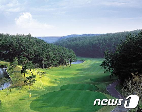 국내 한 골프장 전경(사진은 기사와 관련 없음). © News1