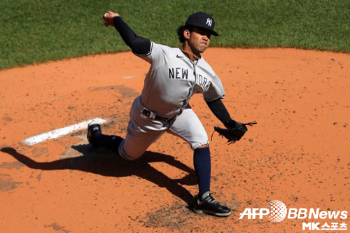 양키스가 2차전 선발로 데이비 가르시아를 낙점했다. 사진=ⓒAFPBBNews = News1