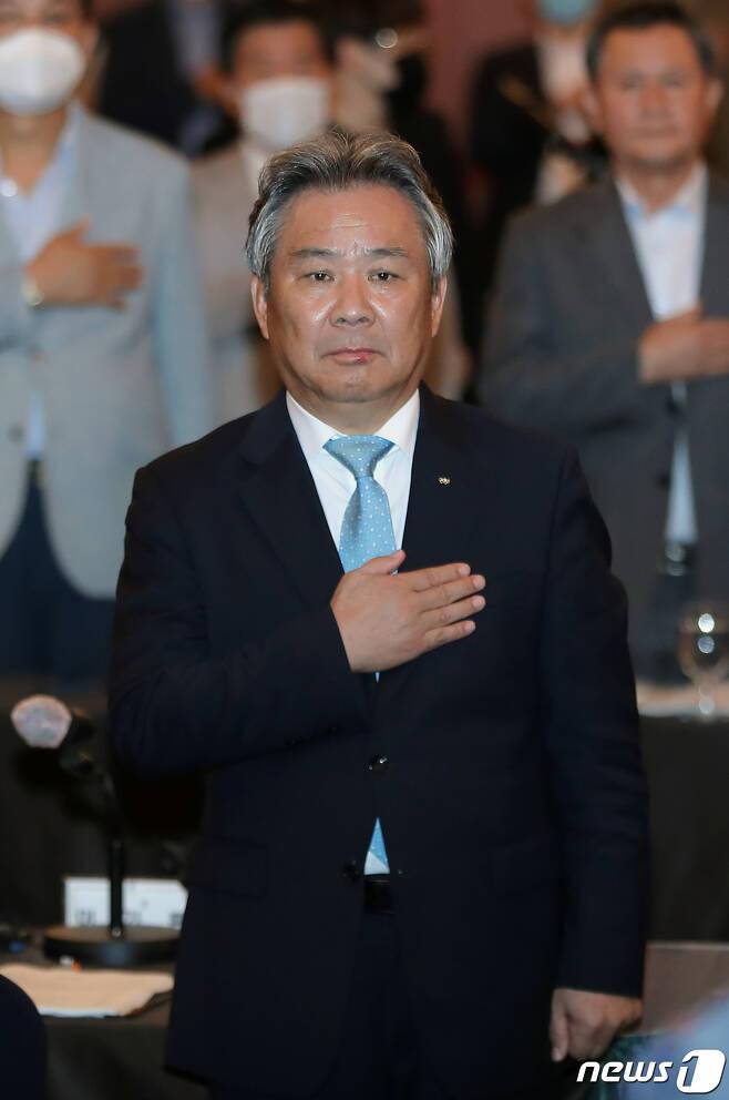 이기흥 대한체육회 회장. /뉴 스1 © News1 구윤성 기자