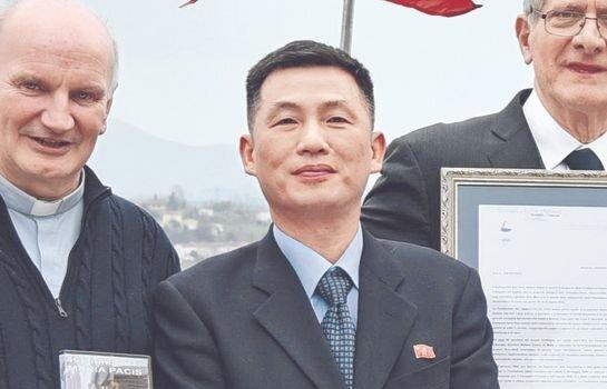 2018년 11월 초 이탈리아 주재 북한 대사관에서 잠적한 조성길 대사 대리 [AP=연합뉴스]