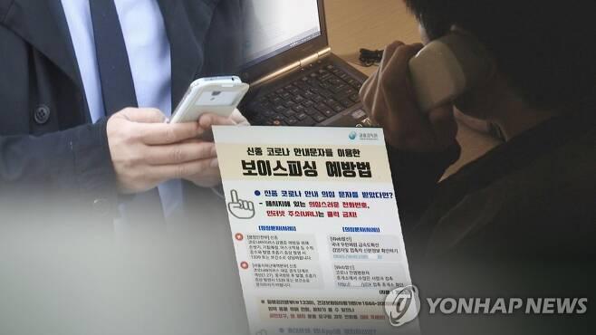 진화하는 피싱 사기…깜박하면 당한다 (CG) [연합뉴스TV 제공]