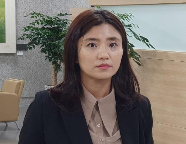 국민의힘 대전 유성을 당협위원장인 김소연 변호사. 뉴스1