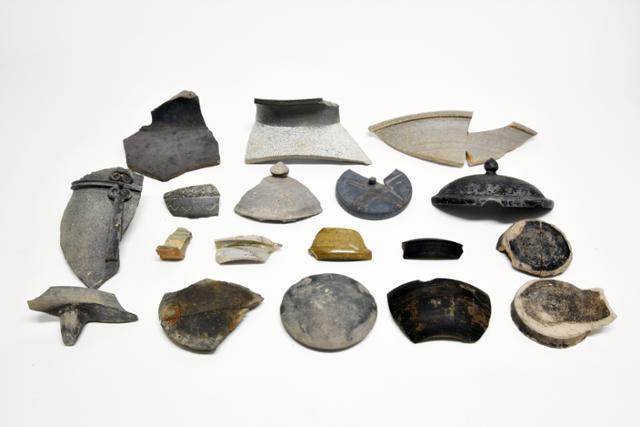 부여 쌍북리 유적에서 출토된 유물들. 특히 대가야 토기는 유적 조성 시기를 알려주는 자료다. 국립부여문화재연구소 제공