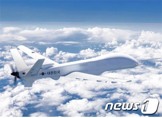 중고도정찰용무인항공기(MUAV) 모습.(사진 ADD 제공)© 뉴스1