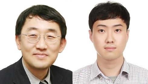 KAIST 이승섭 교수(왼쪽), 정지훈 박사© 뉴스1