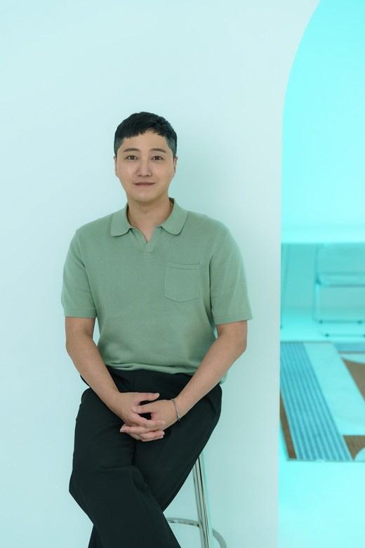 김대명은 연말 촬영 예정인 '슬의생' 질문에 미소로 말을 아꼈다. 제공|리틀빅픽처스