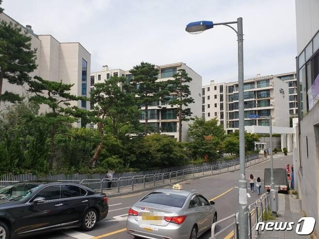 서울 한남동 한남더힐. © 뉴스1