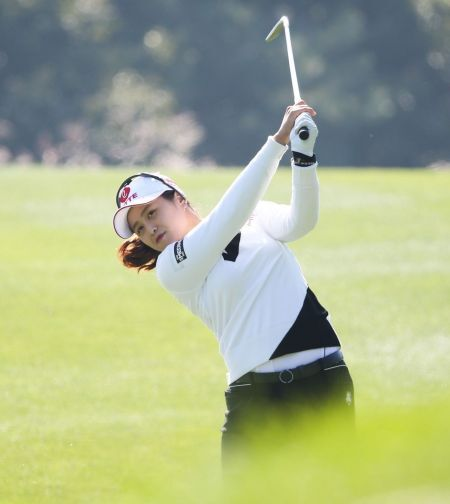 '대상 1위' 최혜진이 휴엔케어여자오픈에서 시즌 첫 승에 도전한다.
