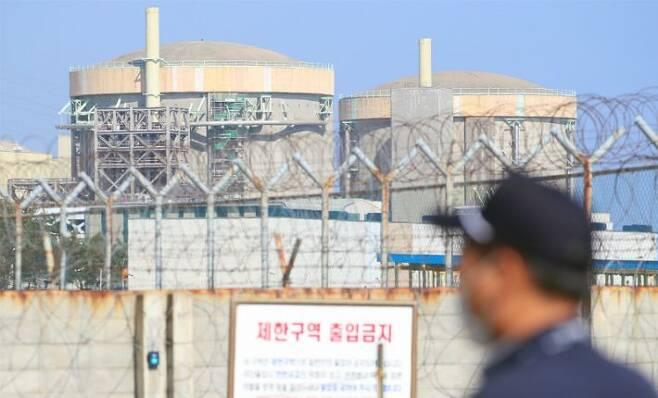 가동이 중지된 월성1호기(사진=연합뉴스)