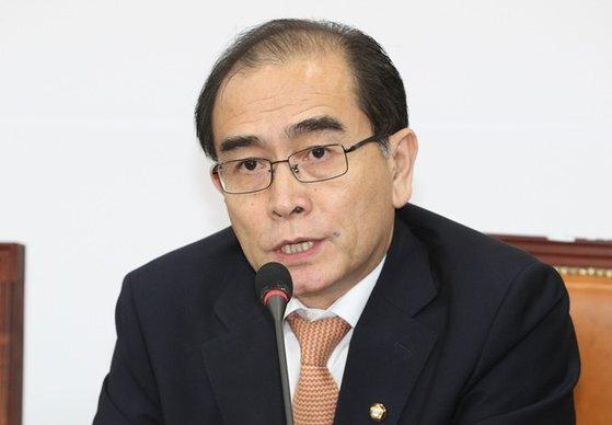 태영호 미래통합당 의원. 뉴스1