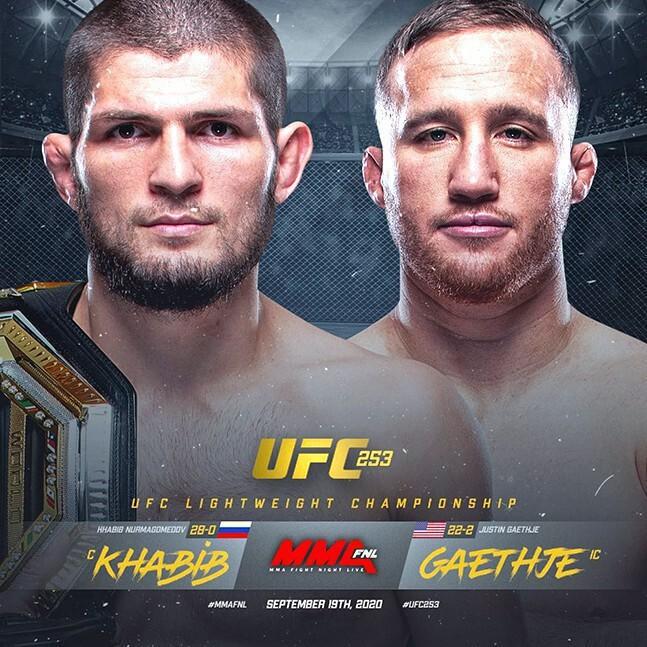 UFC 라이트급 통합타이틀전이 한국시간 24일 열린다. 정규챔피언 하빕 누르마고메도프가 잠정챔피언 저스틴 게이치를 상대로 타이틀 3차 방어, UFC 13연승, 종합격투기 데뷔 29연승에 도전한다.